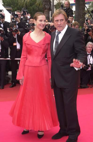 Carole Bouquet et Gérard Depardieu en couple de 1996 à 2005
