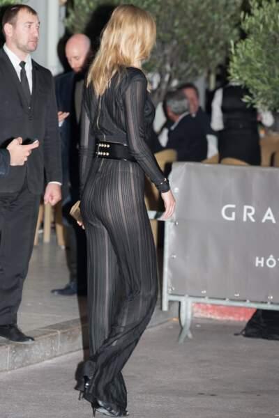 Festival de Cannes, les accidents de tenue les plus sexy - et qui lui allait parfaitement <3