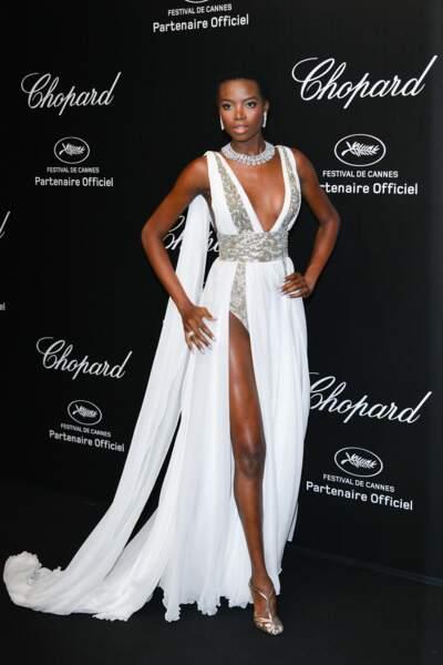 Maria Borges lors de la soirée Chopard organisée au festival de Cannes le 17 mai 2019