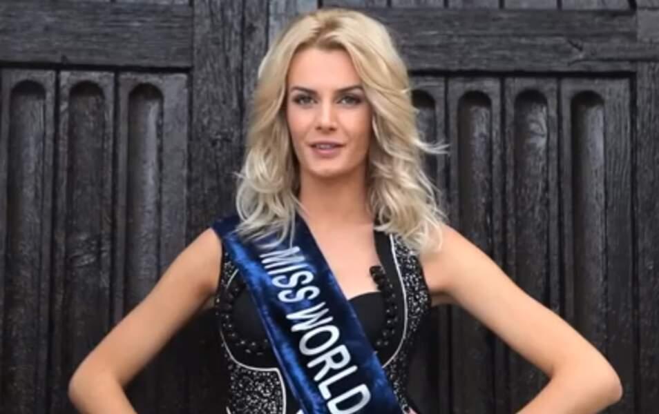 Miss Albanie Ersela Kurti, 22 ans, 1m75
