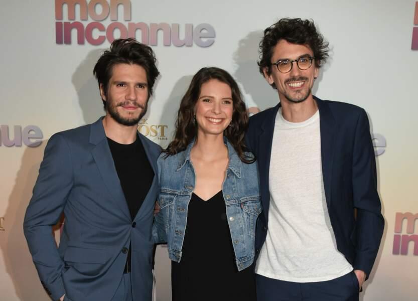 François Civil, Joséphine Japy et Hugo Gélin à l'avant-première de Mon Inconnue