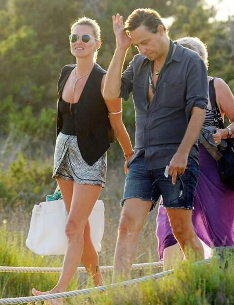 Kate Moss et son mari, Jamie Hince