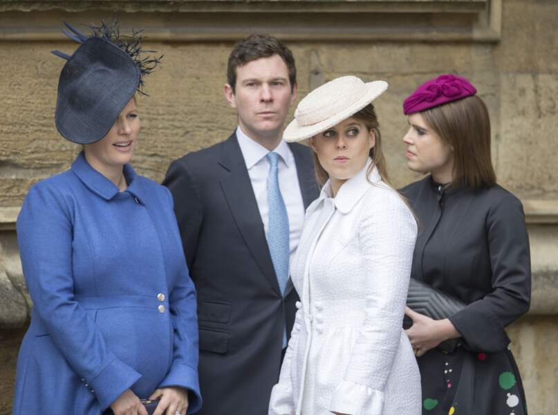 Zara Tindall, Jack Brooksbank, Princesse Eugenie et Princess Beatrice