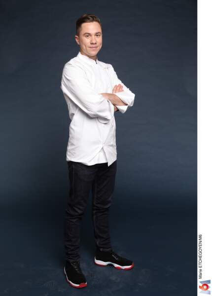 Baptiste Renouard / 27 ans / Chatou / Chef de son restaurant Ochre (Rueil-Malmaison)