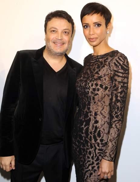 Le couturier Zuhair Murad et Sonia Rolland