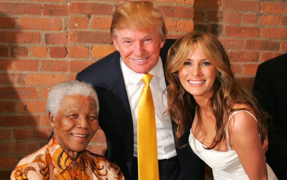 Donald Trump et sa femme Melania