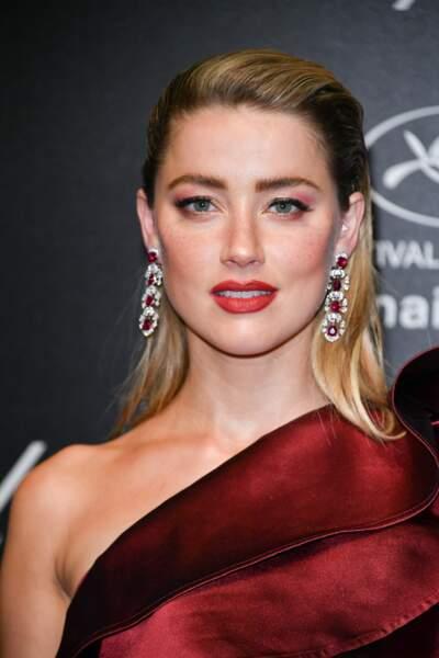 Amber Heard lors de la soirée Chopard organisée au festival de Cannes le 17 mai 2019