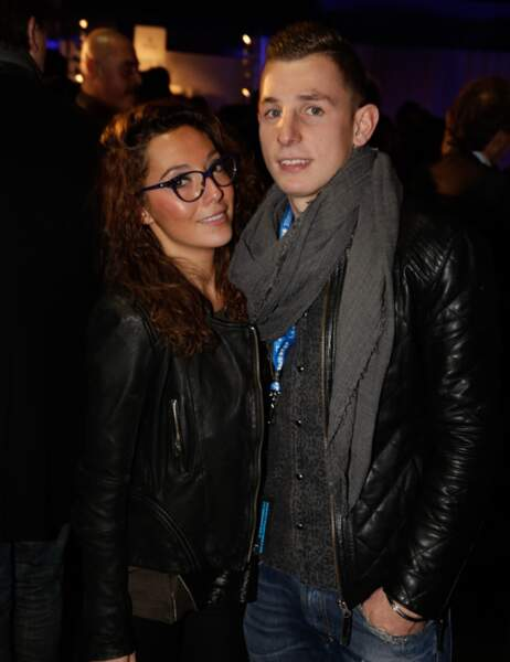 Lucas Digne et sa petite amie Tiziri