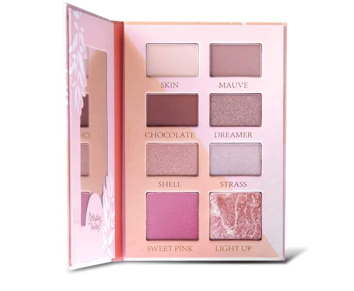 Notre sélection de palettes à petit prix : ElsaMakeUp, Palette Everyday Nudes, 9,95 euros