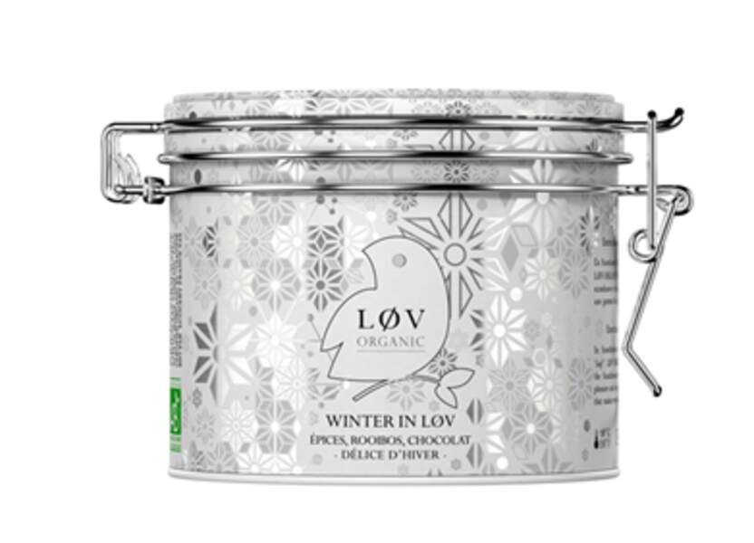 Notre Top 5 des boissons pour passer l'hiver : Tisane Winter in Lov, Lov Organic, 14,90€ les 100 grammes
