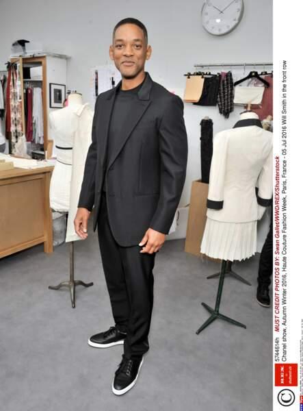 Défilé Chanel Haute Couture : la star de Men in Black Will Smith (il était dans le thème hihi)