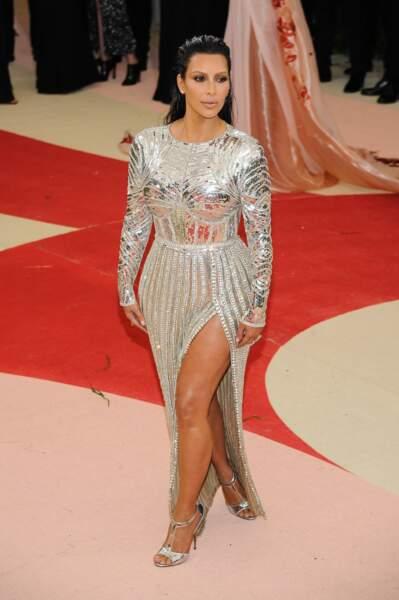 Kim Kardashian en Balmain