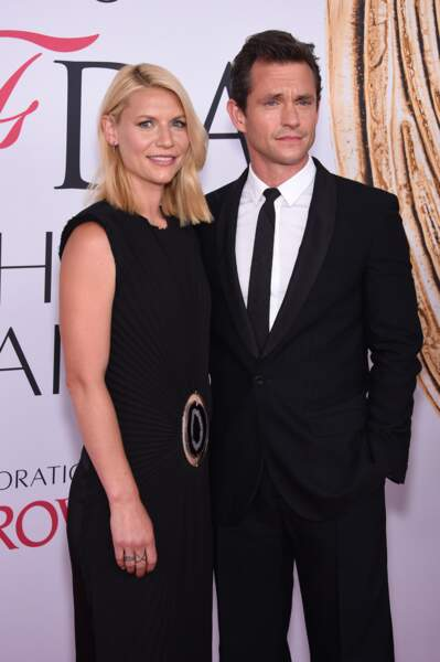 CFDA Fashion Awards : Claire Danes et son très sexy mari Hugh Dancy