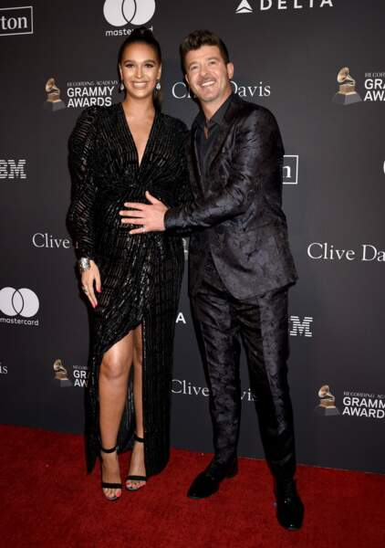 Robin Thicke et April Love Geary