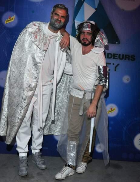 Le duo du Petit Journal Quentin & Eric