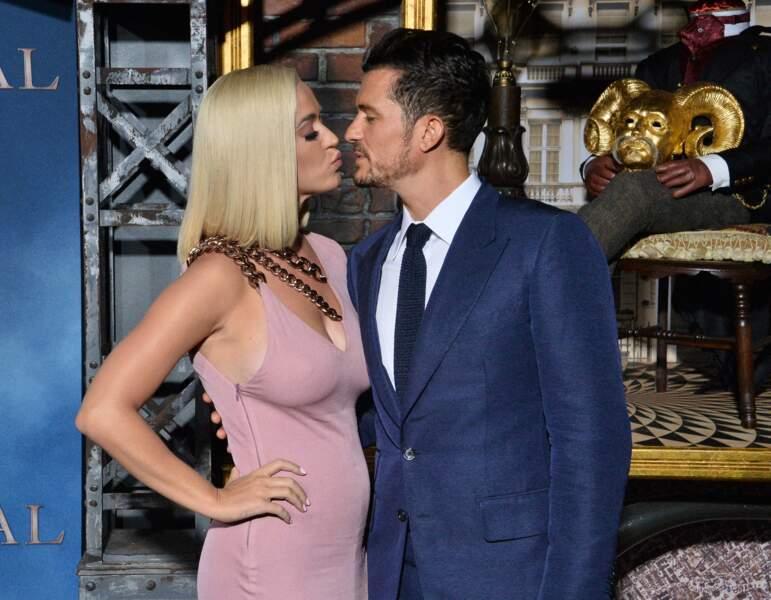 Orlando Bloom et Katy Perry à l'avant-première de Carnival Row Premiere - Los Angeles