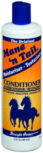 Après-shampoing Mane'n Tail en exclusivité chez Monoprix, 9,99€. On aime : son effet fortifiant et réparateur