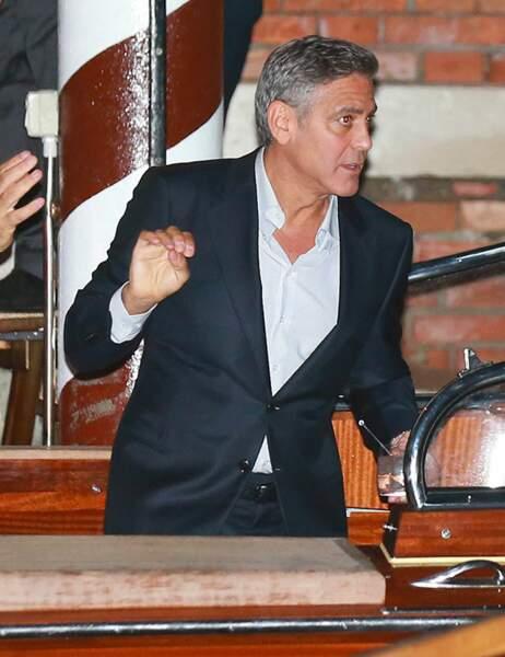 George Clooney sera un homme marié dans quelques heures...