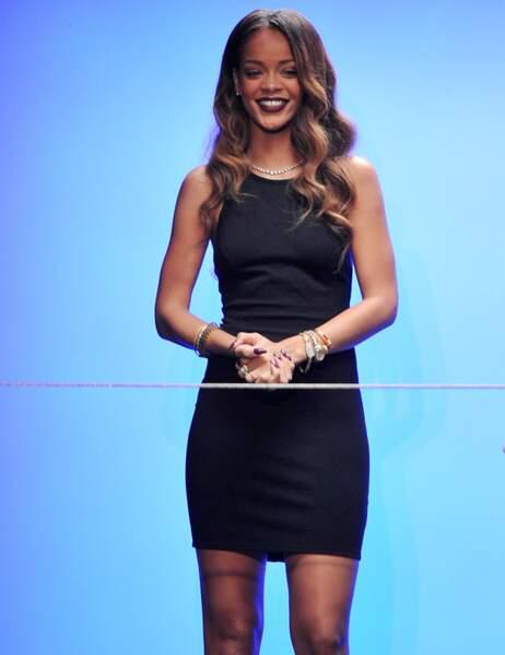 2ème place : Rihanna