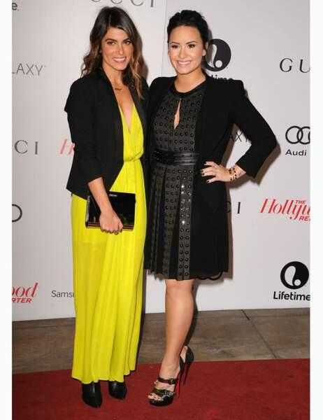 Demi et Nikki Reed, actrice de la saga Twilight