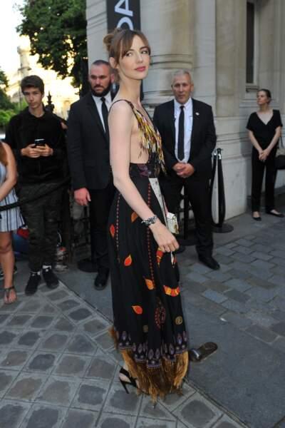 Dîner de la Fondation Vogue - Louise Bourgoin