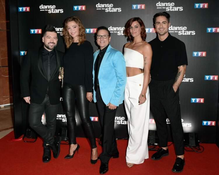 Danse avec les stars 8 - Chris Marques, Sandrine Quétier, Jean-Marc Généreux, Fauve Hautot, Nicolas Archambault