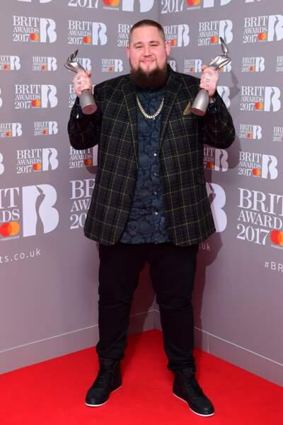 Brit Awards 2017 : Rag 'n' Bone Man