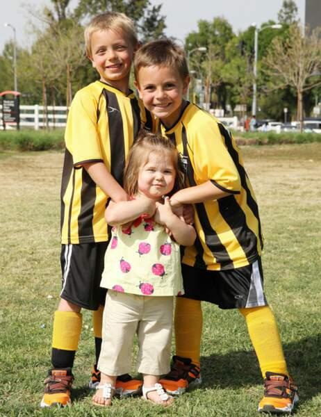 Jayden James, Sean Preston et leur demi soeur, Jordan