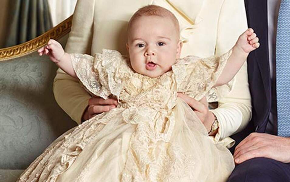 Baby George est vraiment craquant
