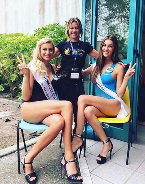 En 2015, la jeune femme avait tenté sa chance au concours Miss Italie
