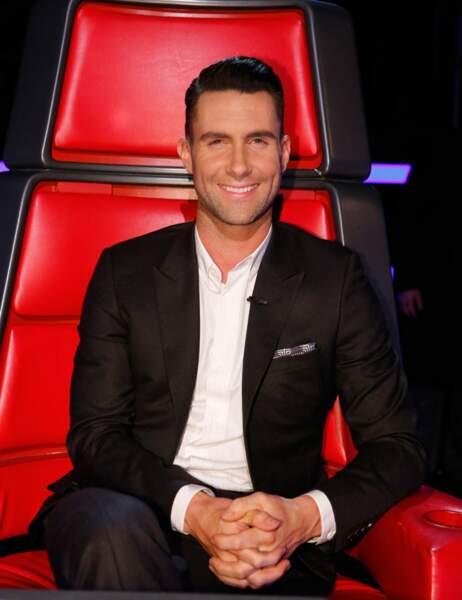 Aux Etats-Unis, Adam Levine (Maroon 5) entame sa 6e saison en tant que coach