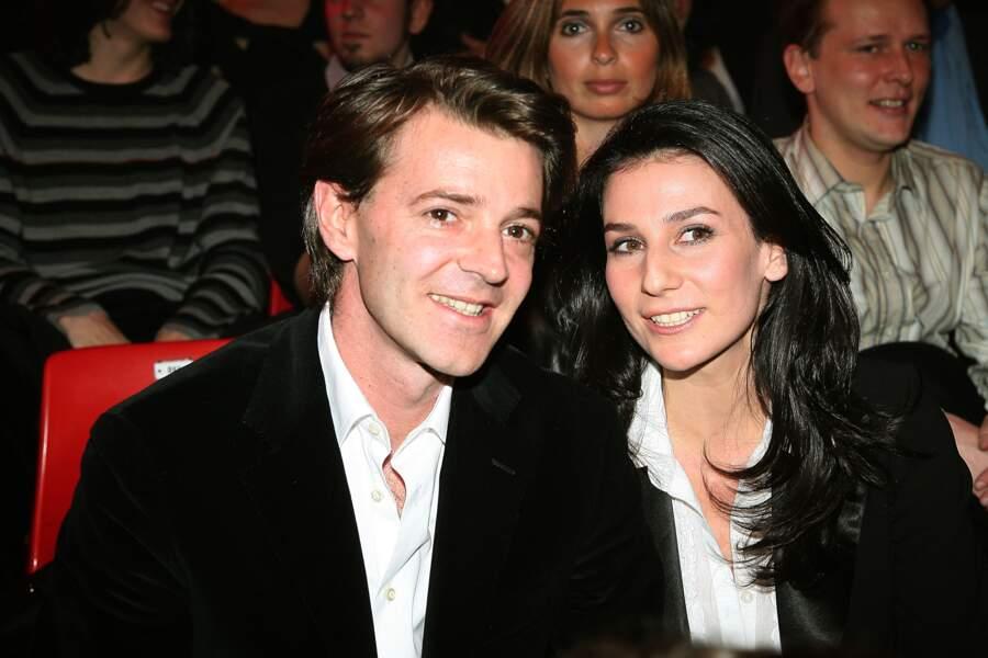 François Baroin et Marie Drucker en couple de 2006 à 2008