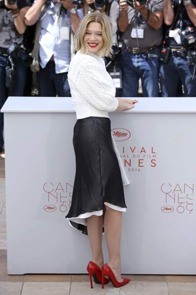 Festival de Cannes 2016 : Léa Seydoux, irrésistible en total look Louis Vuitton