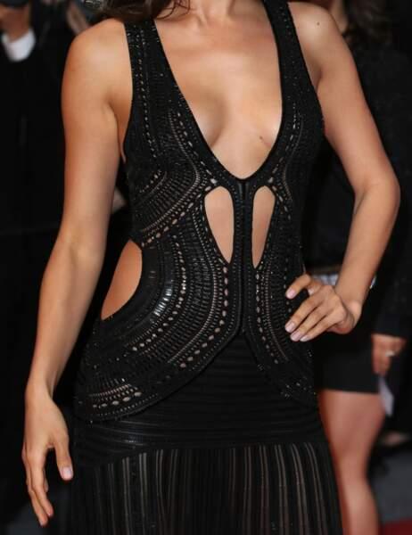 Palme d'or de la tenue la plus sexy du Festival de Cannes : Irina Shayk