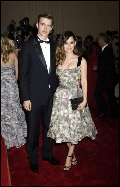 Ces stars de nouveau en couple après une rupture - Hayden Christensen et Rachel Bilson