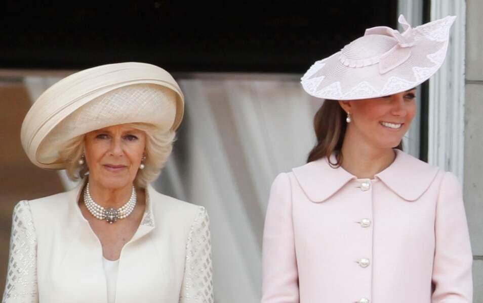 Kate Middleton et la duchesse de Cornwall