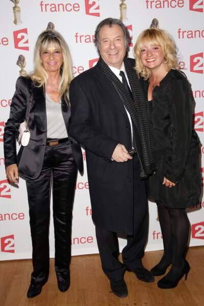 Daniel Russo, sa femme Lucie, et sa fille Amanda