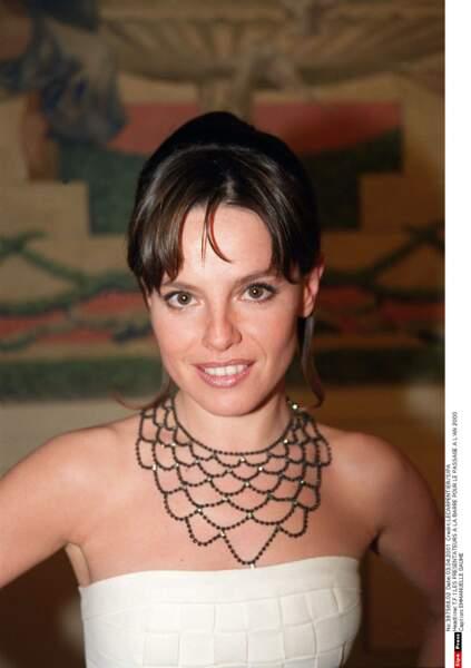 Emmanuelle Gaume dans les années 90