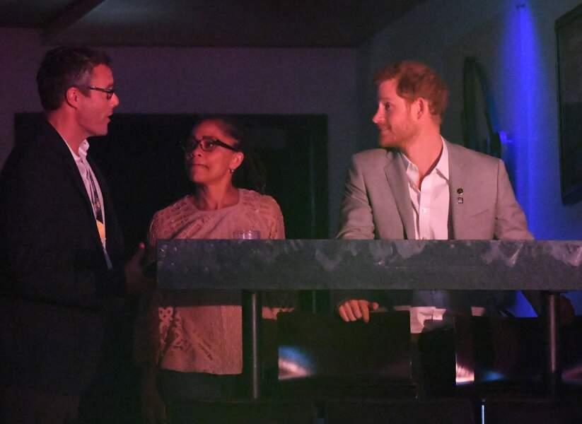 Mariage du prince Harry et Meghan Markle : le futur marié avec sa belle-mère Doria Ragland