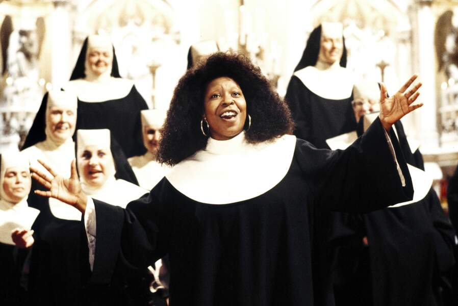 Whoopi Goldberg est devenue un visage de la comédie avec le film Sister Act