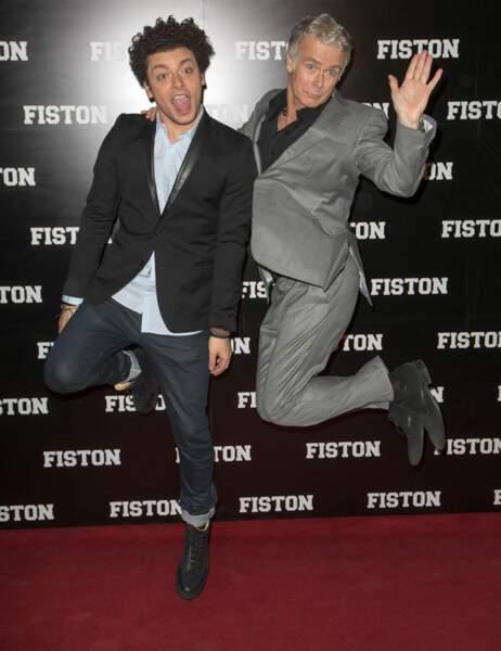 Kev Adams et Franck Dubosc
