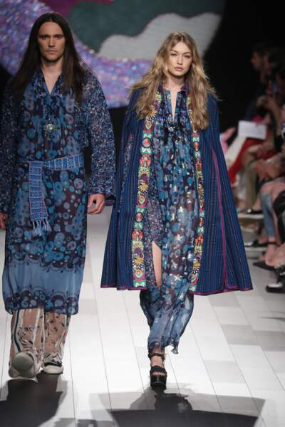 Fashion week de New York - Premier passage pour Gigi Hadid