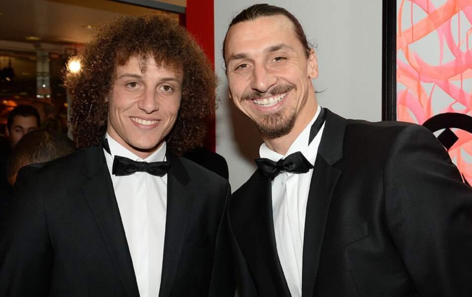 David Luiz et Zlatan Ibrahimovic