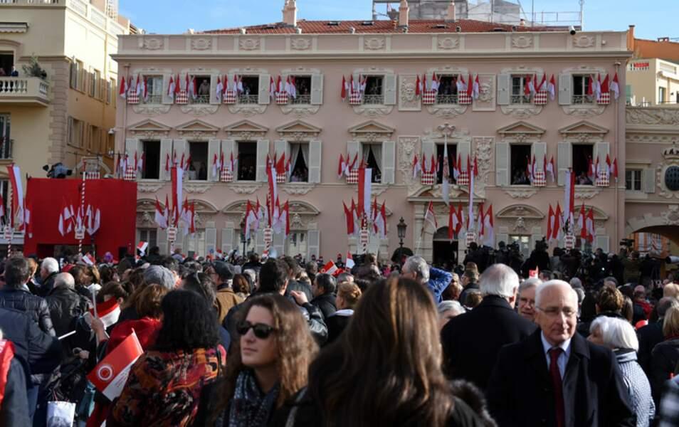 Ils sont plus de 3 000 à s'être rassemblés pour assister aux présentations officielles
