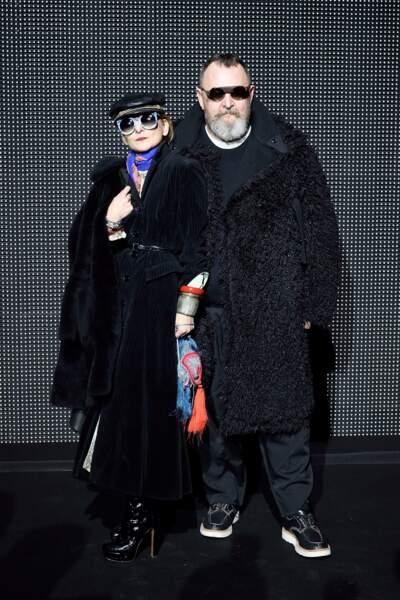 Les stylistes Catherine Baba et Johan Lindeberg