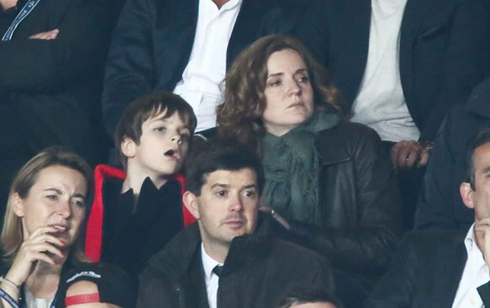 Nathalie Kosciusko-Morizet et son fils Paul-Elie