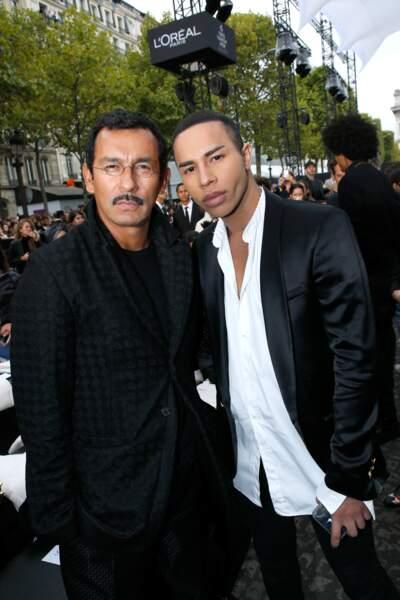 Le Défilé L'Oréal Paris show - Haider Ackermann et Olivier Rousteing
