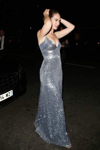 Dîner de la Fondation Vogue - Lily Collins