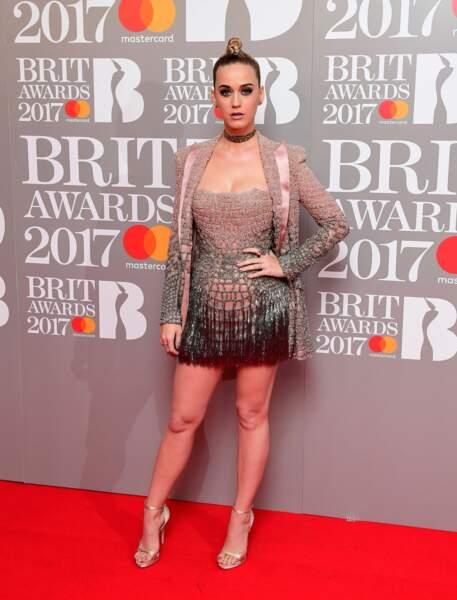 Brit Awards 2017 : Katy Perry