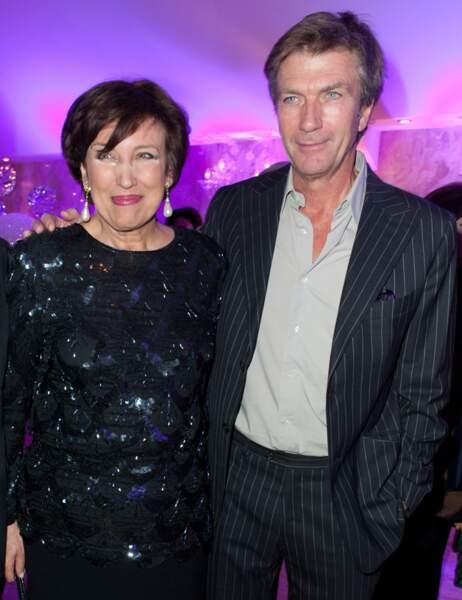Roselyne Bachelot et Philippe Caroit